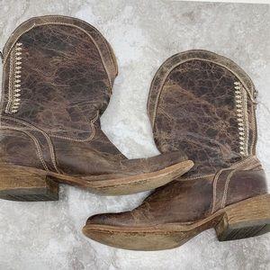 Corral Brown Cowboy Boots Sz 9.5M